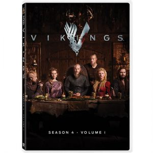 AU $26 BUY: Vikings - Season 4 part 1 on DVD in Australia