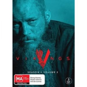 AU $30 BUY: Vikings - Season 4 part 2 on DVD in Australia