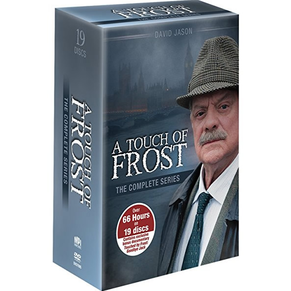 AU $78 BUY: A Touch of Frost Complete Series on DVD in Australia