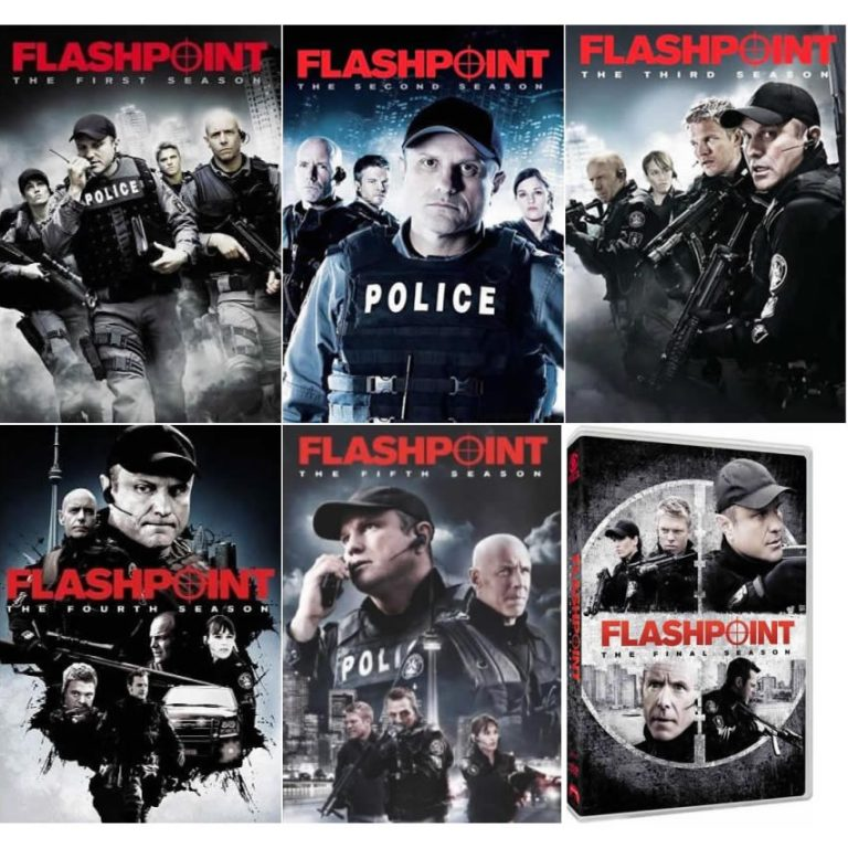AU $90 BUY: Flashpoint Complete Series Seasons 1-6 on DVD in Australia