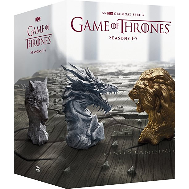 AU $128 BUY: Game of Thrones Complete Series Seasons 1-7 on DVD in Australia