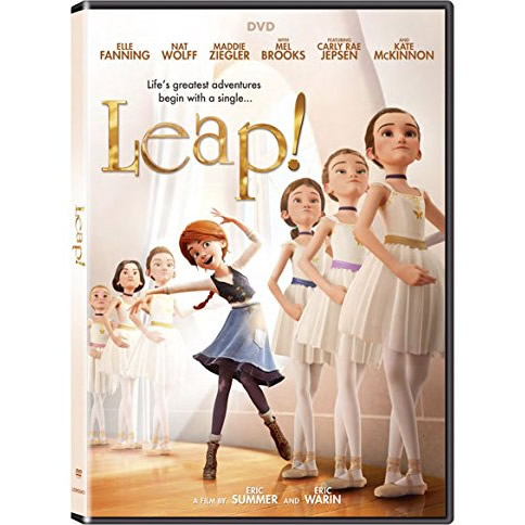 AU $22 BUY: Leap! Animated DVD in Australia