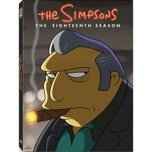 AU $28 BUY: The Simpsons - Season 18 on DVD in Australia
