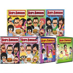 AU $95 BUY: Bob's Burgers Complete Series Seasons 1-7 on DVD in Australia