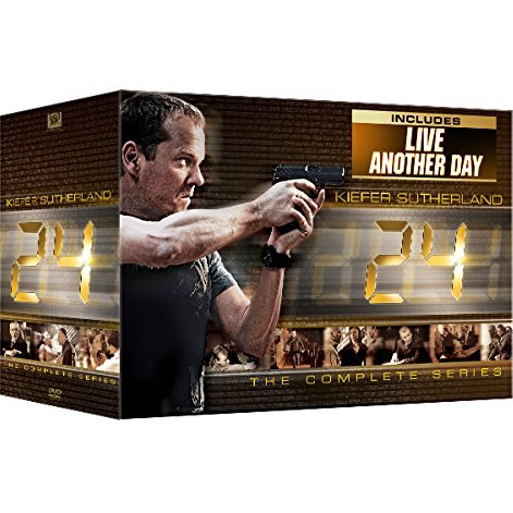 AU $162 BUY: 24: The Complete Series with Live Another Day DVD in Australia