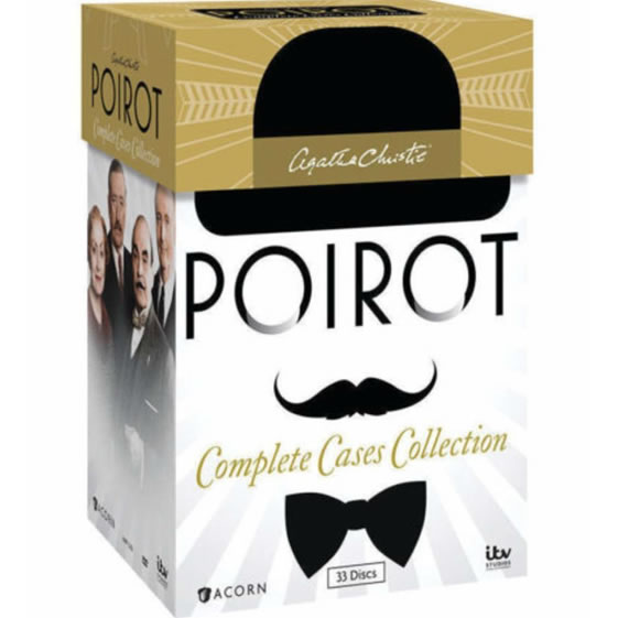 AU $150 BUY: Agatha Christie's Poirot: Complete Cases Collection on DVD in Australia