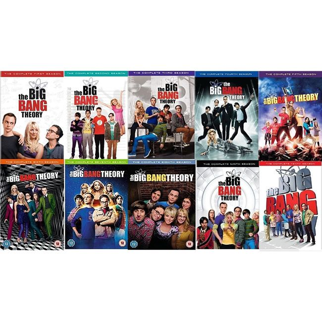 AU $130 BUY: Big Bang Theory Complete Series Seasons 1-10 on DVD in Australia