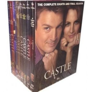 AU $125 BUY: Castle Complete Series Seasons 1-8 on DVD in Australia