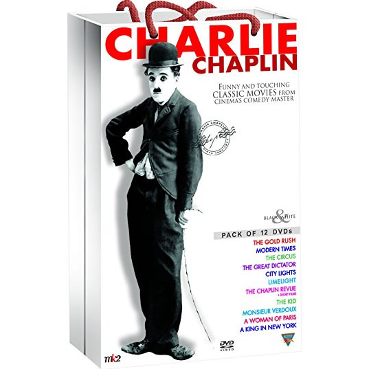 AU $78 BUY: Charlie Chaplin Classic Collection on DVD in Australia