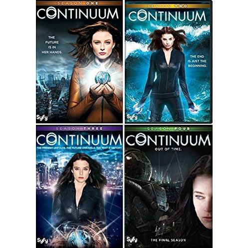 AU $62 BUY: Continuum Complete Series Seasons 1-4 on DVD in Australia