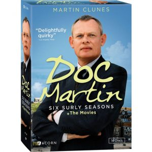 AU $78 BUY: Doc Martin: Six Surly Seasons + The Movies on DVD in Australia