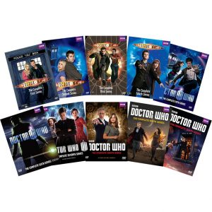 AU $210 BUY: Doctor Who Complete Series Seasons 1-10 on DVD in Australia