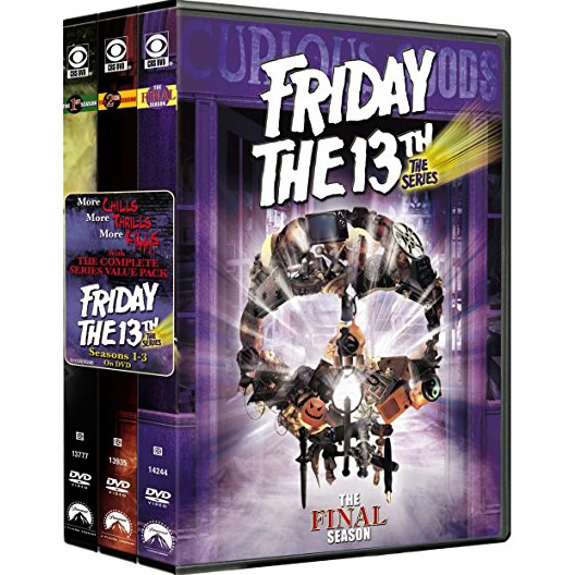 AU $80 BUY: Friday the 13th Complete Series Seasons 1-3 on DVD in Australia
