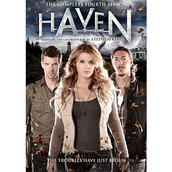 AU $26 BUY: Haven - Season 4 on DVD in Australia