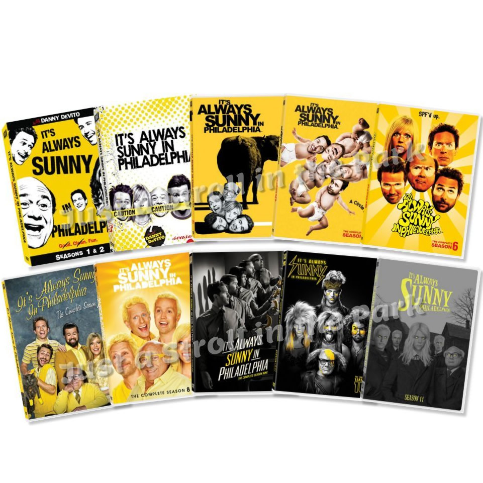 AU $115 BUY: IT'S ALWAYS SUNNY IN PHILADELPHIA COMPLETE SERIES SEASONS 1-11 ON DVD IN AUSTRALIA
