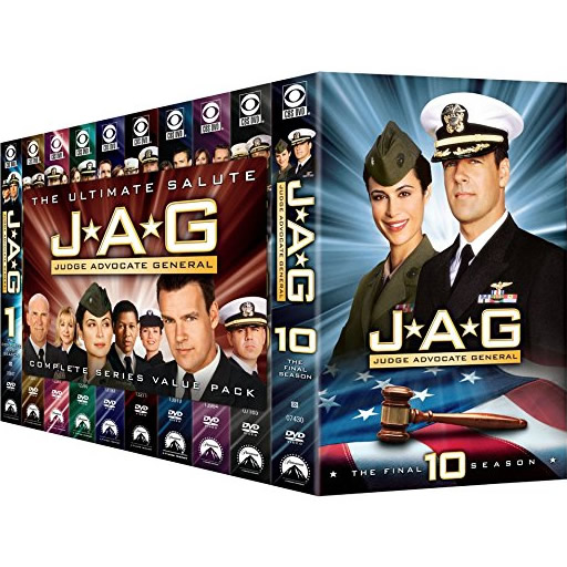 AU $180 BUY: JAG: Judge Advocate General Complete Series on DVD in Australia