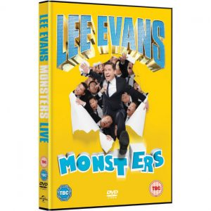 AU $22 BUY: Lee Evans - Monsters Live on DVD in Australia