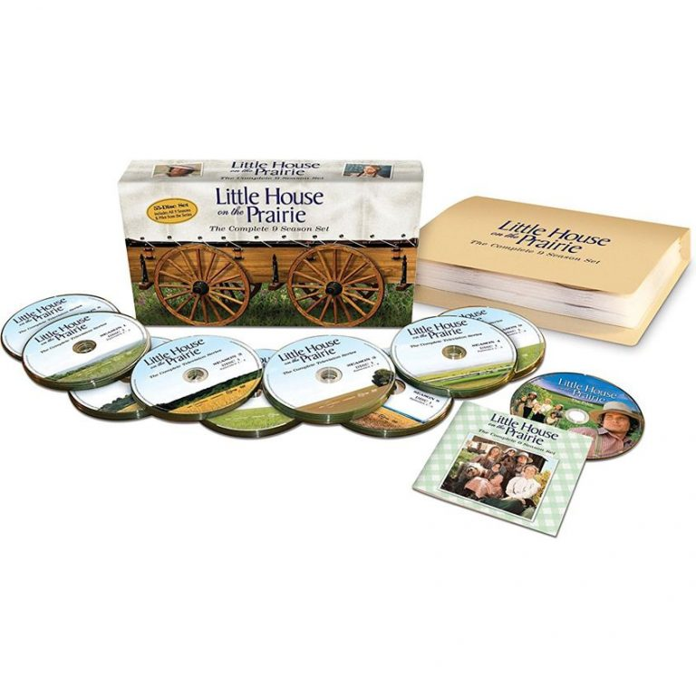 AU $135 BUY: Little House on the Prairie Complete Series on DVD in Australia