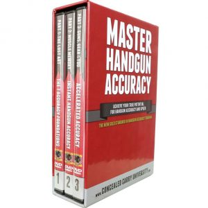 AU $65 BUY: Master Handgun Accuracy on DVD in Australia
