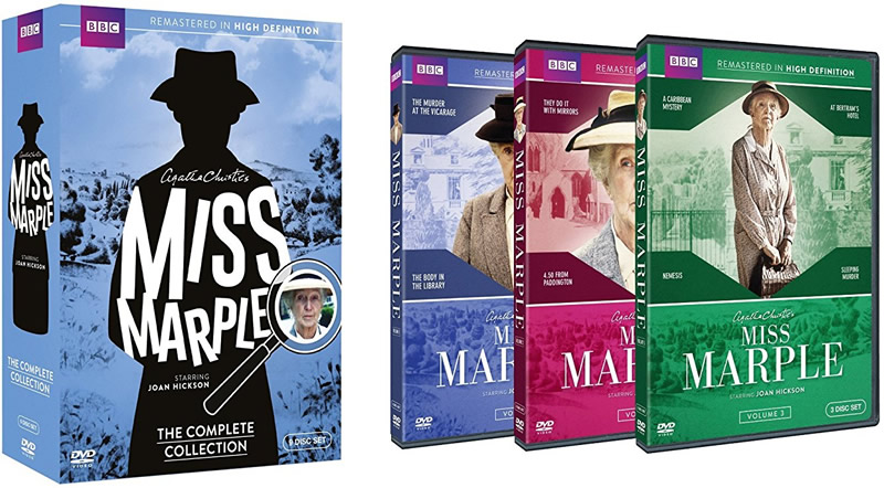 AU $60 BUY: Miss Marple: The Complete Collection on DVD in Australia