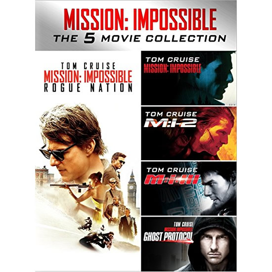 AU $46 BUY: Mission: Impossible 5-Movie Collection on DVD in Australia