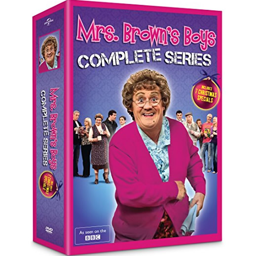 AU $58 BUY: Mrs. Brown's Boys Complete Series on DVD in Australia