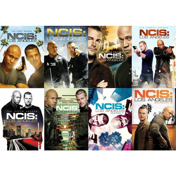 AU $155 BUY: NCIS Los Angeles Complete Series Seasons 1-8 on DVD in Australia