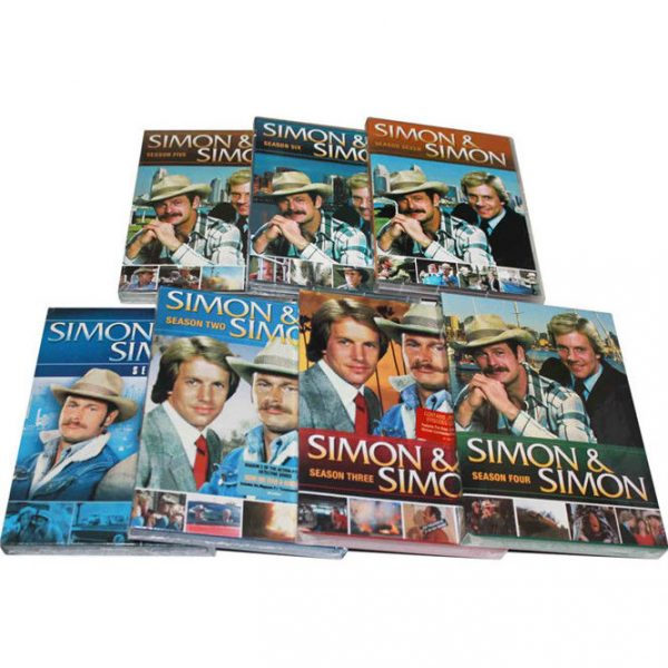 AU $135 BUY: Simon & Simon Complete Series Seasons 1-7 on DVD in Australia