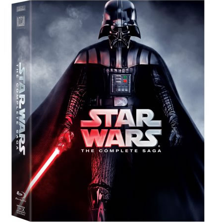 AU $56 BUY: STAR WARS The Complete Saga on DVD in Australia