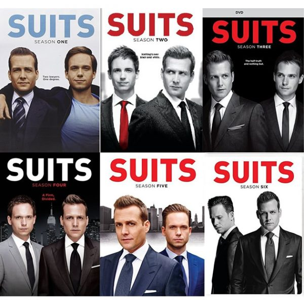 AU $100 BUY: Suits Complete Series Seasons 1-6 on DVD in Australia
