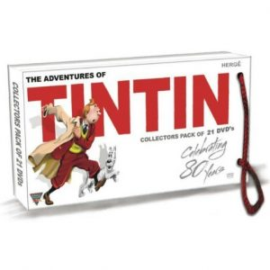 AU $122 BUY: The Adventures of Tintin - Complete Series All 39 Episodes 21 Disc Set by Colin O'Meara Animated DVD in Australia