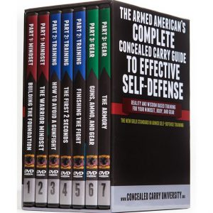 AU $86 BUY: The Armed American's Complete Concealed Carry Guide to Effective Self-Defense on DVD in Australia