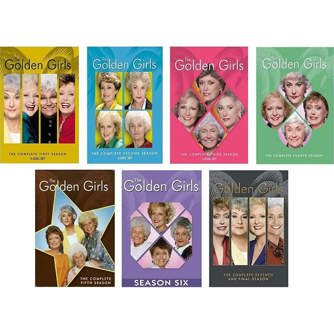 AU $95 BUY: The GOLDEN GIRLS Complete Series Seasons 1-7 on DVD in Australia
