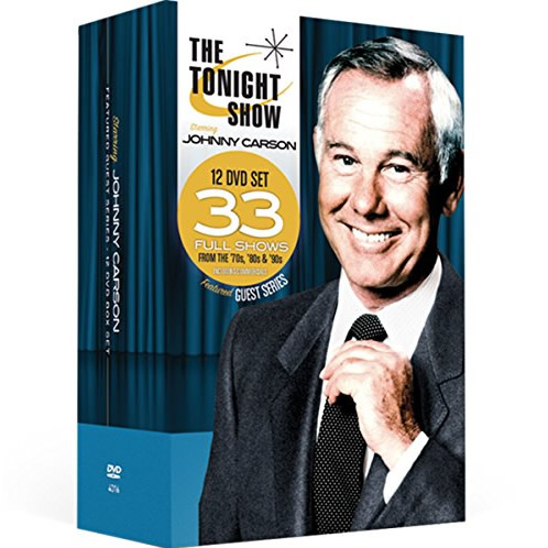 AU $78 BUY: The Tonight Show starring Johnny Carson - Featured Guest Series 12 Volumes on DVD in Australia