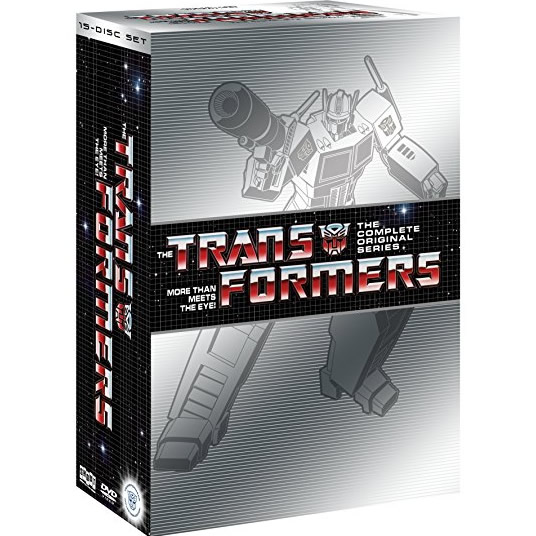 AU $72 BUY: Transformers Complete Series on DVD in Australia