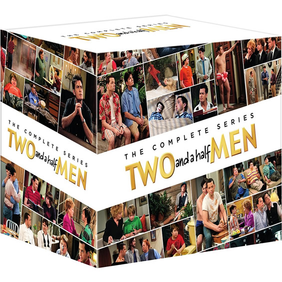 AU $155 BUY: Two and a Half Men Complete Series on DVD in Australia
