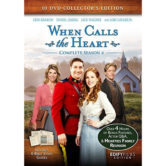 AU $46 BUY: When Calls The Heart - Season 4 on DVD in Australia