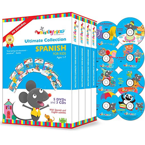 AU $78 BUY: Whistlefritz - The Ultimate Collection Spanish for Kids on DVD in Australia