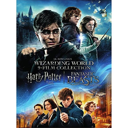 AU $66 BUY: Wizarding World 9-Film Collection Animated DVD in Australia
