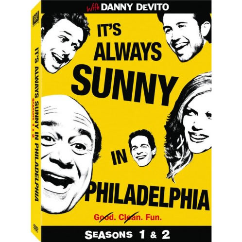 AU $20 BUY: It's Always Sunny in Philadelphia - Season 1 and 2 on DVD in Australia