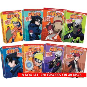 AU $180 BUY: Naruto Uncut Complete Series Seasons 1-4 on DVD in Australia