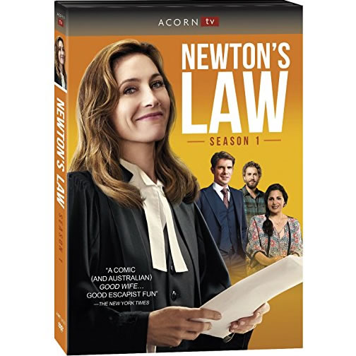 AU $30 BUY: Newton's Law - Season 1 on DVD in Australia