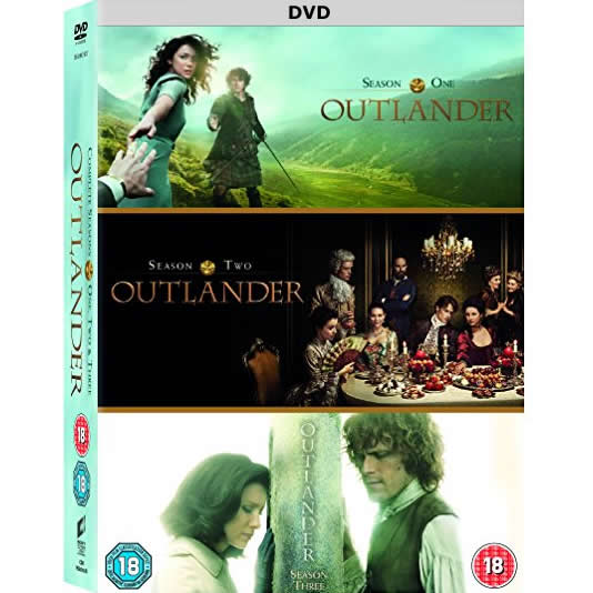 AU $82 BUY: Outlander Complete Series Seasons 1-3 on DVD in Australia