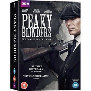 AU $68 BUY: Peaky Blinders Complete Series Seasons 1-4 on DVD in Australia