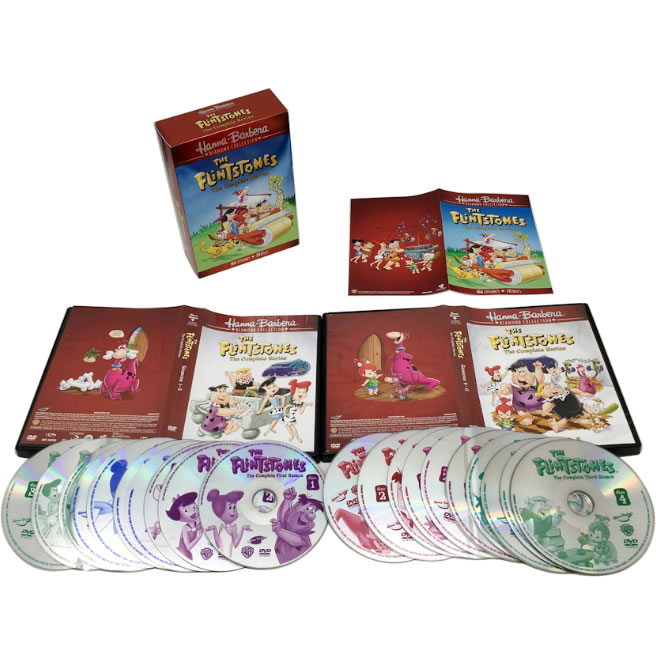 AU $76 BUY: The Flintstones Diamond Collection Complete Series on DVD in Australia