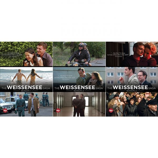 AU $62 BUY: The Weissensee Saga Complete Series Seasons 1-3 on DVD in Australia