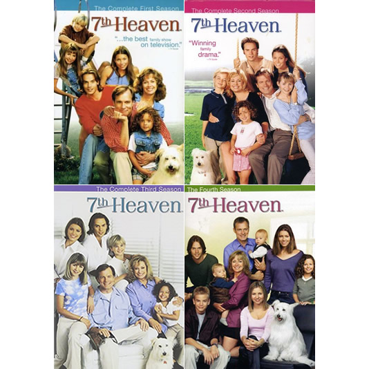 AU $65 BUY: 7th Heaven Complete Series Seasons 1-4 on DVD in Australia