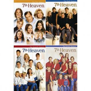 AU $63 BUY: 7th Heaven Complete Series Seasons 5-8 on DVD in Australia