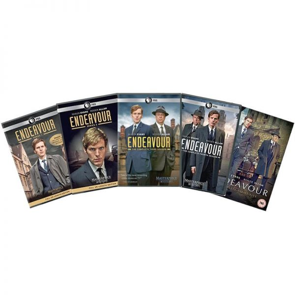 AU $82 BUY: Endeavour Complete Series Seasons 1-5 on DVD in Australia