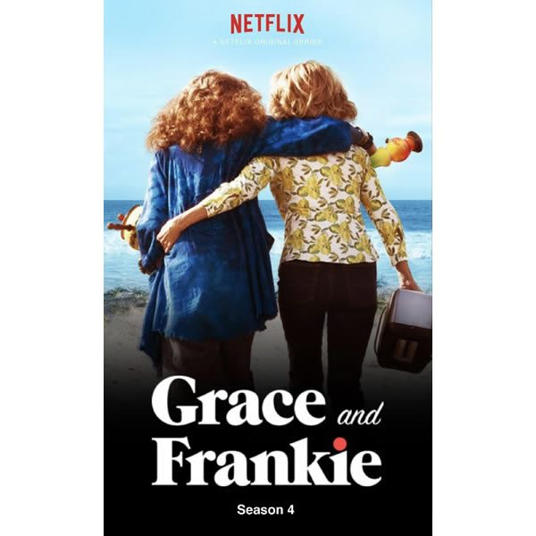 AU $33 BUY: Grace And Frankie - Season 4 on DVD in Australia